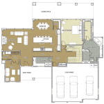 """Broken Top"" Floor Plan-Lower"