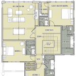 """Broken Top"" Floor Plan-Upper"
