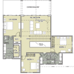 Mt. Bachelor Floor Plan-Upper