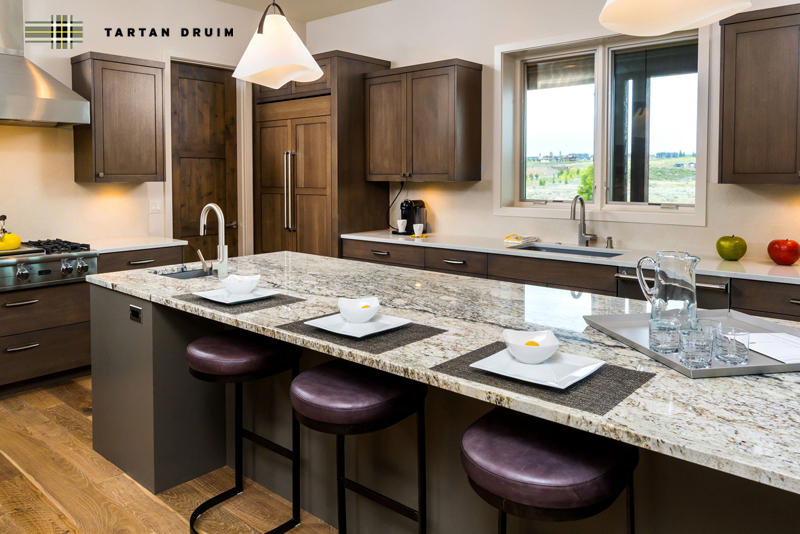 Tartan Druim Tour of Homes Featured Kitchen