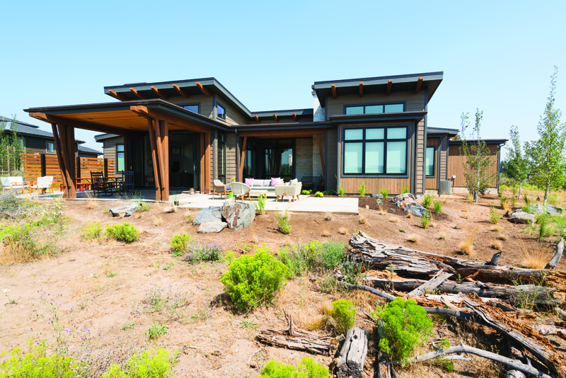 Tartan Druim Canady home featured in Bend Magazine