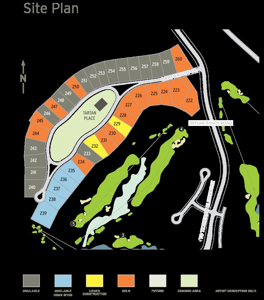 Tartan Druim Site Map 3_28_19