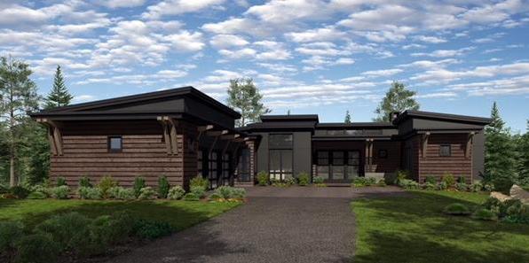 Tartan Druim new homes rendering