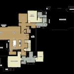 """Tartan Druim at Tetherow """"Lot 259"""" Floor Plan- Lower"""