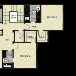 Tartan Druim Lot 257 Floor Plan Upper