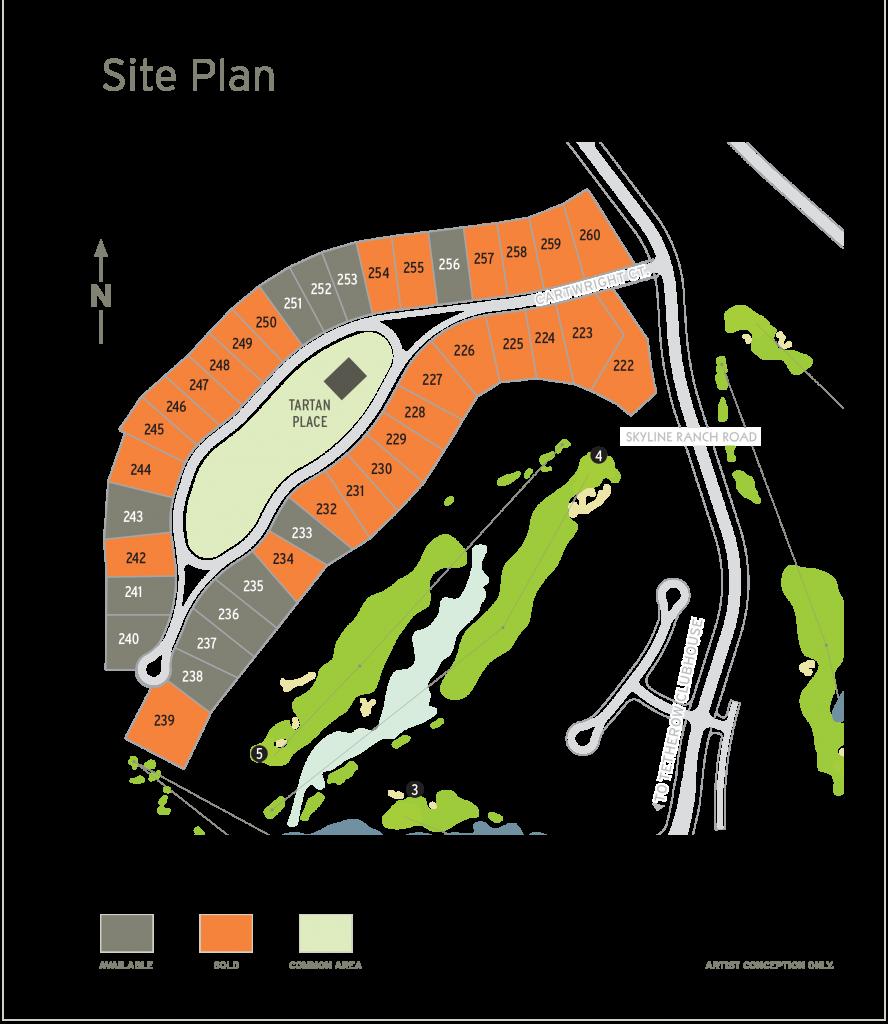 Tartan Druim Site Map 03_11_21